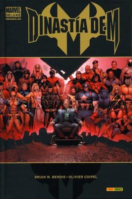 Tomo de Dinastía de M de Marvel Deluxe
