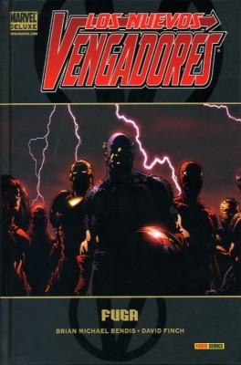 Tomo de Los Nuevos Vengadores - La Fuga de Marvel Deluxe