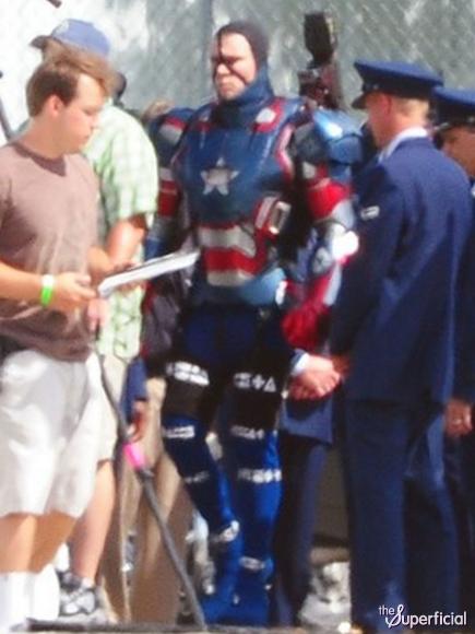 Iron Patriot- Iron Man 3