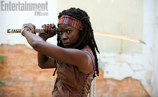 michonne walking dead katana