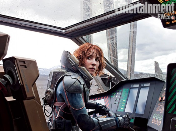 prometheus entertainment weekly magazine