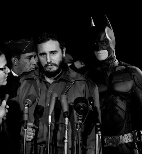 Batman-guardaespaldas-de-Fiel-Castro