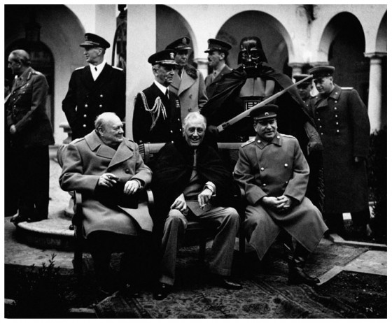 Darth Vader-churchill-roosevelt-stalin