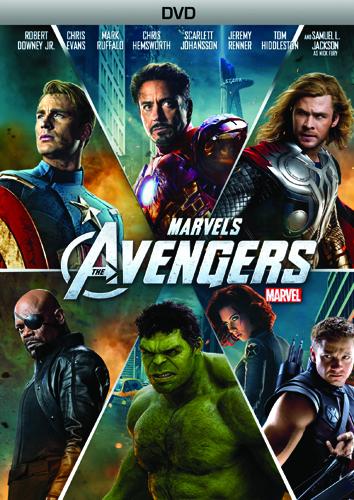 Los Vengadores Dvd