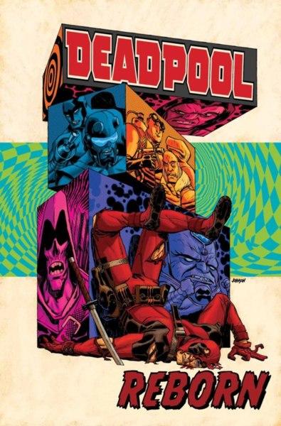 "Portada de Deadpool ""Dead"""