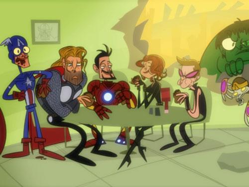 Parodia Vengadores Desunidos