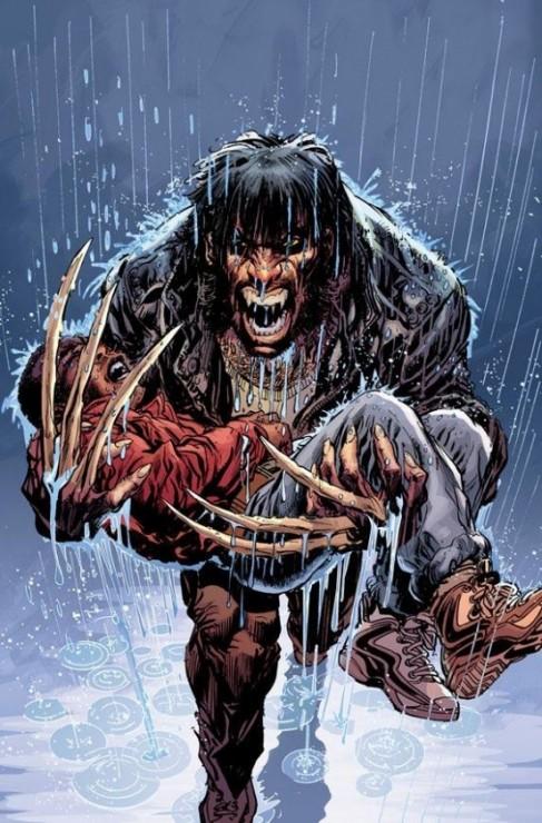 Detalle de Lobezno en First X-Men
