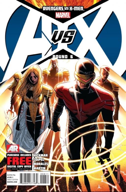 Portada del Avengers Vs. X-Men 6