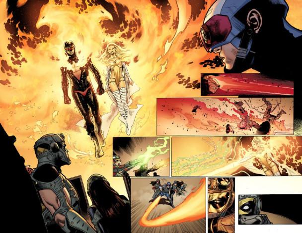 Detalle del Avengers Vs. X-Men 6