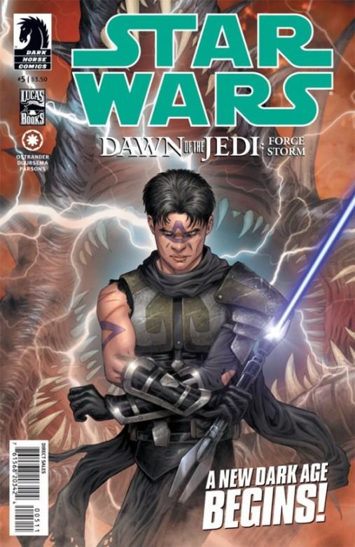 Portada del Star Wars Dawn of Jedi 5