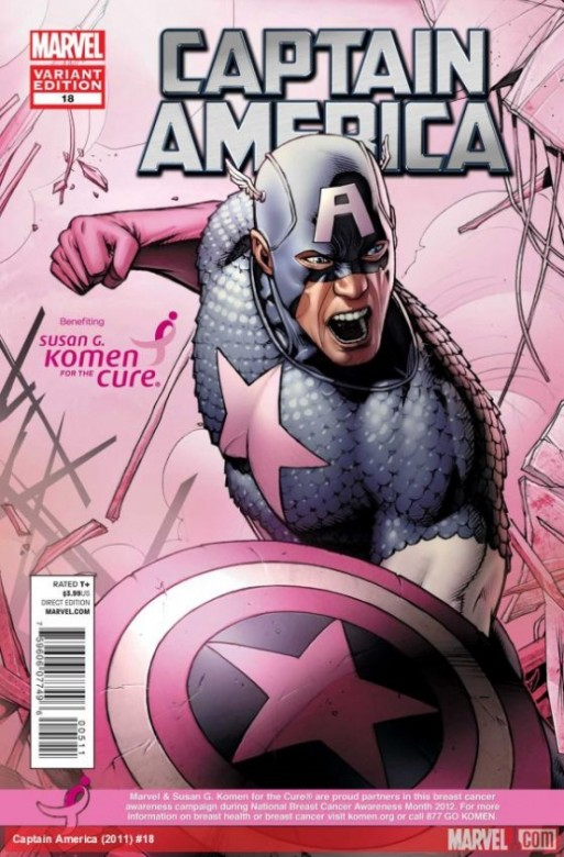 Portadal alternativa del Captain America 18