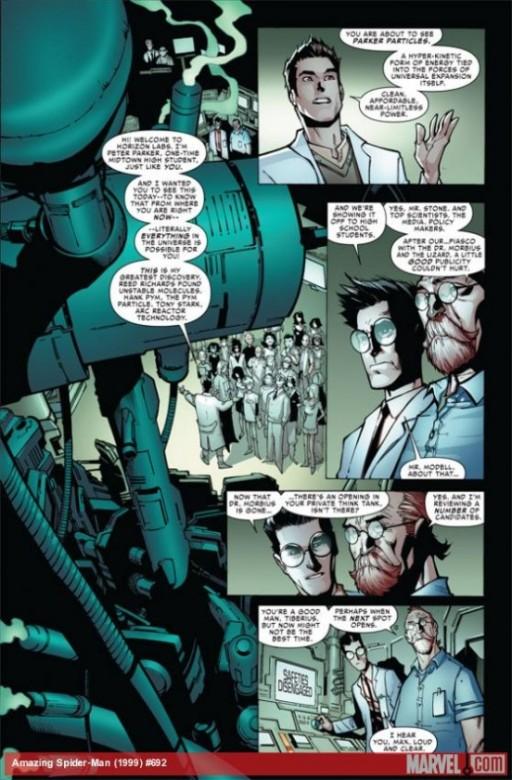 Página del Amazing Spider-Man 692