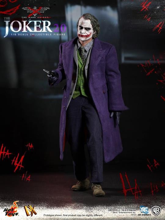 """nueva figura de """"El Joker"""" de hot toys"""