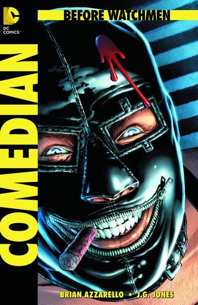 Portada del Before Watchmen: Comedian 1