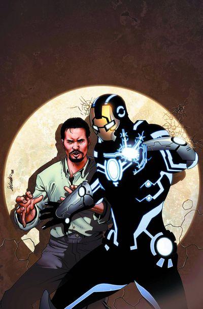 Portada del Invincible Iron Man 519
