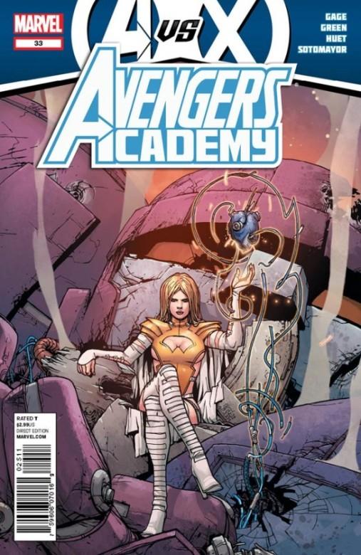 Portada del Avengers Academy  33