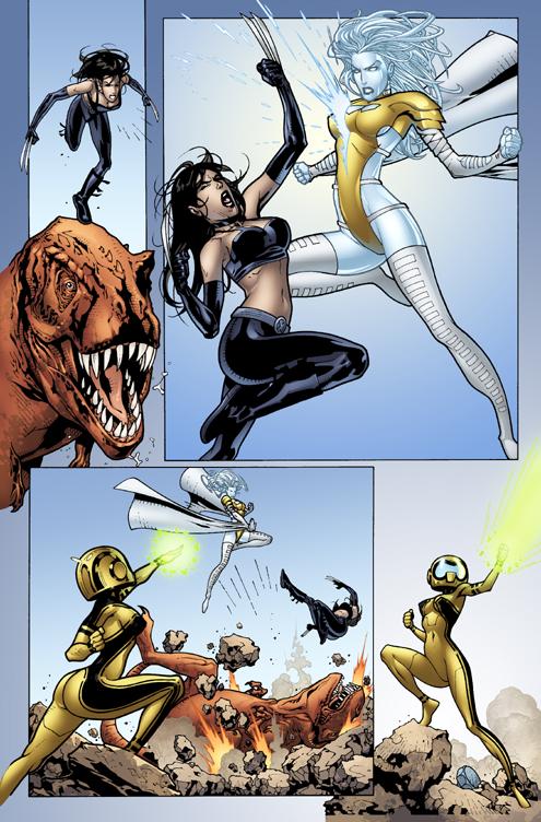 Página del Avengers Academy 33