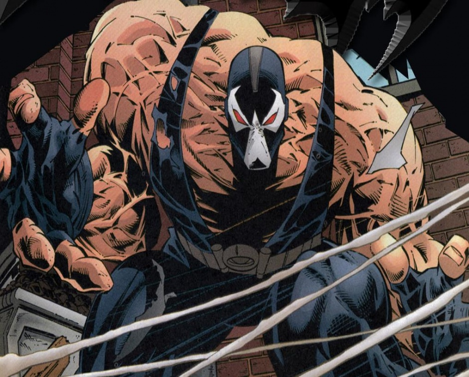 Bane batman comic