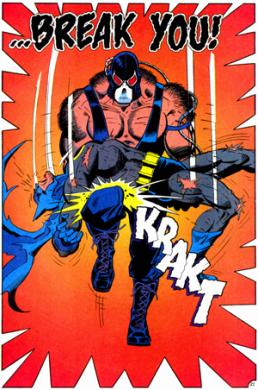 Bane batman rompe espalda break