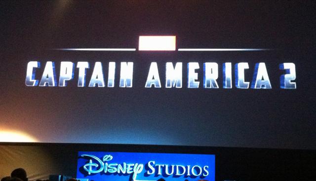 Logo de Capitán América 2