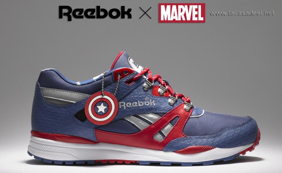 1b35ae86954 Reebok X Marvel. No es un videojuego