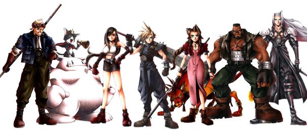 Final Fantasy 7 LCDE1