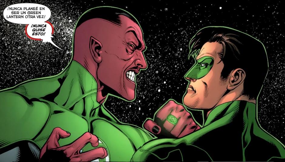 Siniestro y Green Lantern trabajarán juntos