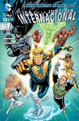 Liga de la Justicia Internacional #1