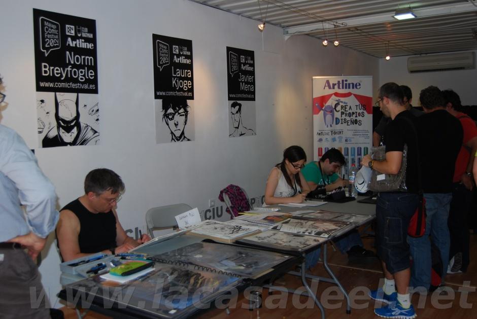 Málaga Cómic Festival Autores Invitados