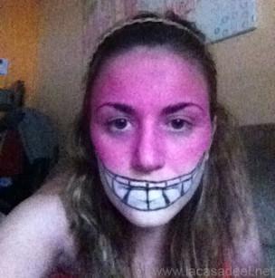 Maquillaje Cosplay El Gato De Cheshire 11