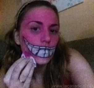 Maquillaje Cosplay El Gato De Cheshire 12