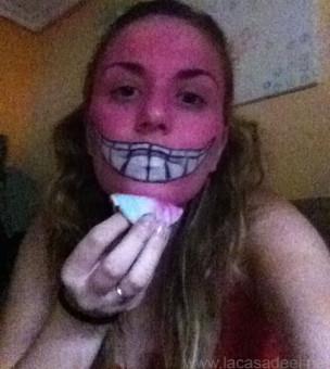 Maquillaje Cosplay El Gato De Cheshire 13