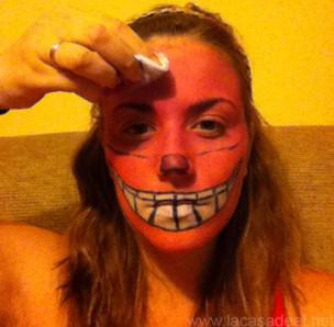 Maquillaje Cosplay El Gato De Cheshire 16