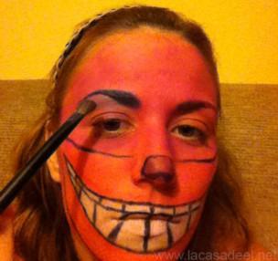 Maquillaje Cosplay El Gato De Cheshire 17