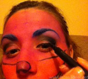 Maquillaje Cosplay El Gato De Cheshire 18