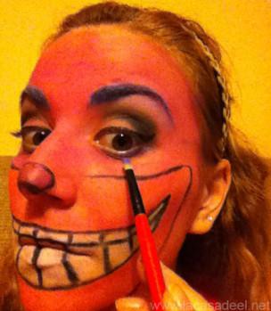Maquillaje Cosplay El Gato De Cheshire 19