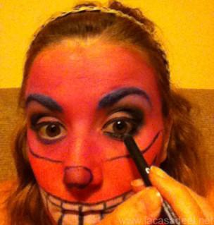 Maquillaje Cosplay El Gato De Cheshire 20