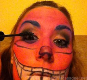 Maquillaje Cosplay El Gato De Cheshire 21