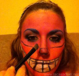 Maquillaje Cosplay El Gato De Cheshire 22