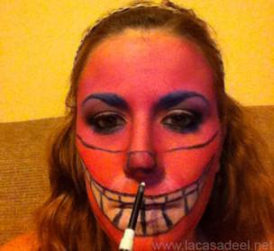 Maquillaje Cosplay El Gato De Cheshire 23