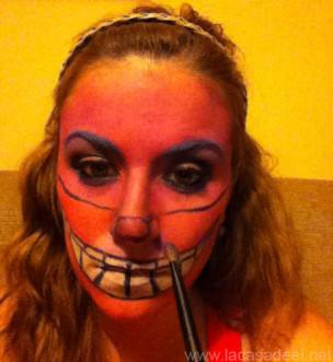 Maquillaje Cosplay El Gato De Cheshire 24