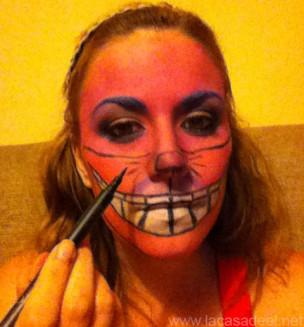 Maquillaje Cosplay El Gato De Cheshire 25