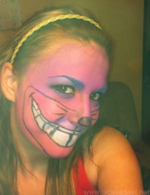 Maquillaje Cosplay El Gato De Cheshire 27