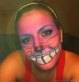 Maquillaje Cosplay El Gato De Cheshire 29