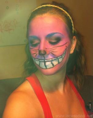 Maquillaje Cosplay El Gato De Cheshire 30