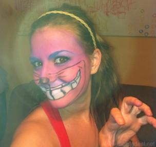 Maquillaje Cosplay El Gato De Cheshire 31