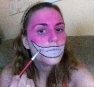 Maquillaje Cosplay El Gato De Cheshire 7