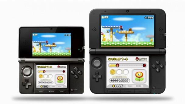 Nintendo 3DS XL Comparación