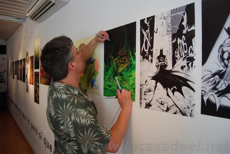 Norm Breyfogle en el Málaga Cómic Festival