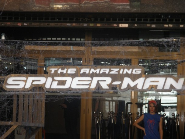 Premier Spiderman en Madrid